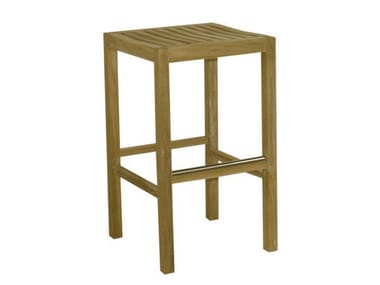 Wooden garden stool SAVANA | Garden stool