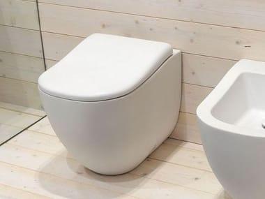 Inodoro de cerámica FLUID | Inodoro