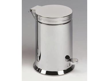 Steel bathroom waste bin TE 38