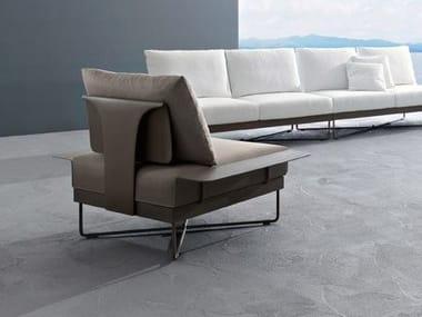 Metal garden armchair CORAL REEF | Garden armchair
