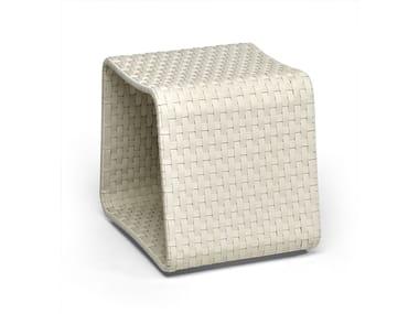 Aluminium garden pouf HAMPTONS | Garden pouf