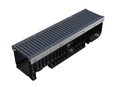 Sistema di drenaggio in ABS PLASTIC FLY 100