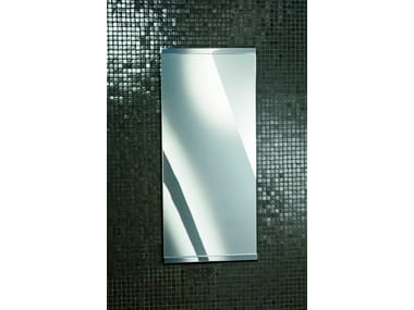 Rectangular wall-mounted bathroom mirror SP 90