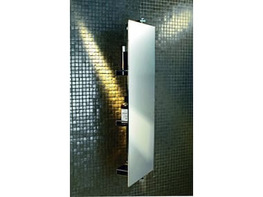 Rectangular wall-mounted mirror with cabinet SP 31
