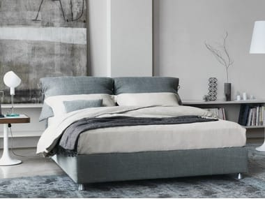 Double bed with removable cover NATHALIE