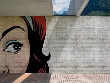 Outdoor pop art wallpaper POP POP POP