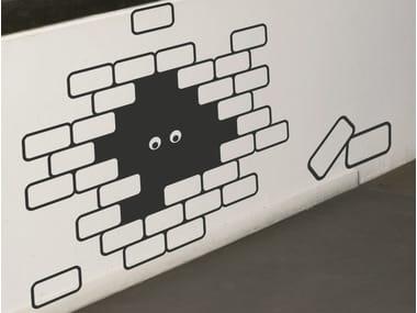 Vinyl wall sticker I SEE U U SEE ME | Wall sticker