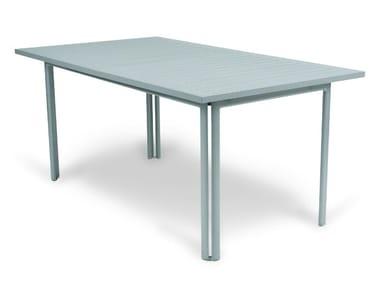 Rectangular steel garden table COSTA | Rectangular table