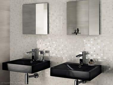 Mosaico in ceramica a pasta bianca MARK WALL | Mosaico in ceramica a pasta bianca