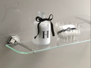 Crystal bathroom wall shelf JUBILEE | Bathroom wall shelf