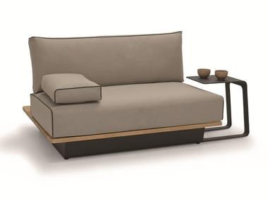 Modular fabric garden armchair AIR | Garden armchair