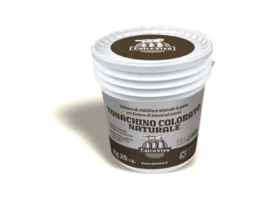 Hydraulic and hydrated lime based plaster Tonachino colorato naturale