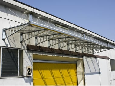 Steel canopy Canopy