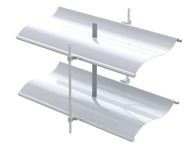Adjustable aluminium solar shading AR 92 S ECN® | Solar shading