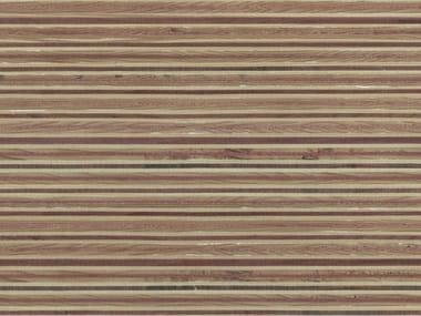 Wooden Veneered panel PLEXWOOD® PINE/OCOUMÉ