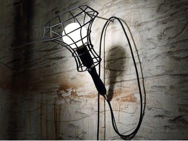 Applique a luce diretta in ferro LADY CAGE | Applique in ferro