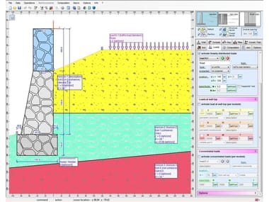 CAD-integrated structural calculation software / Loadbearing wall calculation IS MURI