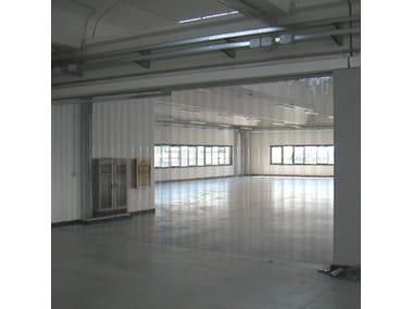 Flexible strip door Flexible industrial door