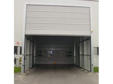 Flexible industrial door Vertically sliding industrial door