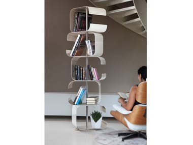 Freestanding sectional bookcase TICO SMALL