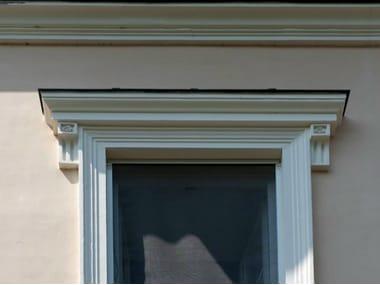 Cement ledge Trabeation