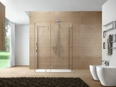 Rectangular Aquatek shower cabin CLIP10