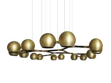 Brass pendant lamp HORUS