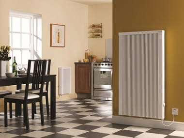 Electric wall-mounted decorative radiator Decorative radiator