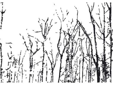 Wallpaper strip BLACK FOREST