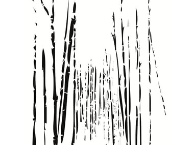 Wallpaper strip BAMBOO