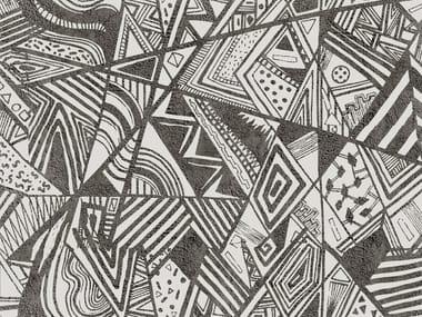 Geometric outdoor wallpaper AFROMIX