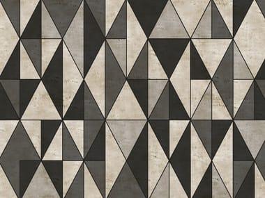 Geometric outdoor wallpaper DIECUT
