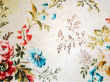 Carta da parati con motivi floreali per bagno FLOWING FLOWER