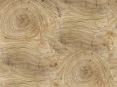 Wood effect bathroom wallpaper LIFE LINES