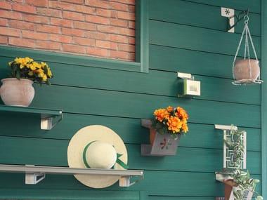 Wood panel for facade / planter HORTUS