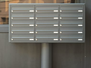 One-sided outdoor mailbox EURO 37-26 | Mailbox