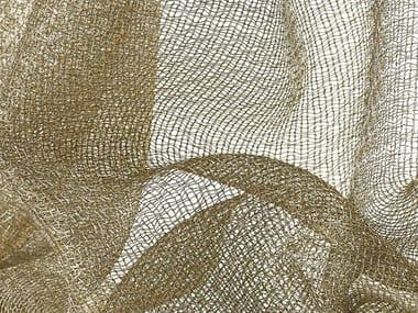 Tecido liso voile para cortinas LUX
