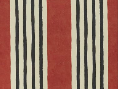 Striped jute fabric RATAPLAN