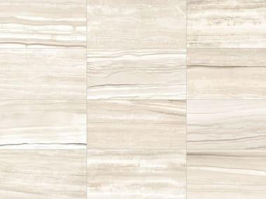 Revêtement de sol/mur en grès cérame effet marbre pour intérieur et extérieur STONE MIX