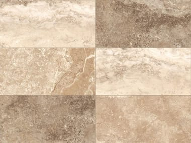 Indoor/outdoor porcelain stoneware wall/floor tiles with marble effect STONE MIX