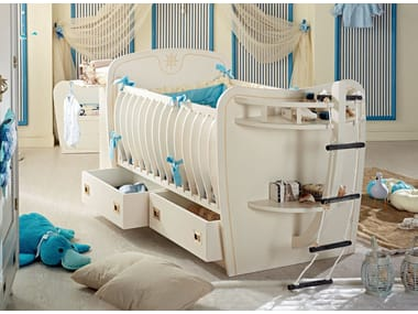 Wooden cot with storage space 540 | PASSEPARTOUT