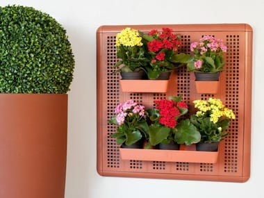 Recycled plastic wall organizer PARETELLA ECO 60