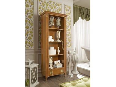 Tall open tall wooden bathroom cabinet 916/A | Open bathroom cabinet