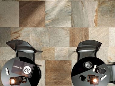 Porcelain stoneware indoor flooring and wall tiles