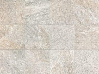 Full-body porcelain stoneware wall/floor tiles with stone effect STONE D Quarzite Bianca