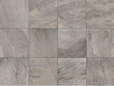 Pavimento/rivestimento in gres porcellanato a tutta massa effetto pietra STONE D Quarzite di Barge