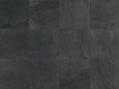 Full-body porcelain stoneware wall/floor tiles with stone effect STONE D Quarzite Grafite