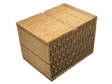 External masonry clay block Alveolater® 60 BIO - T 35x25x25 BSS-24