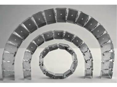 Guide e profili flessibili da pareti per controsoffitti GYPROC FLEXO