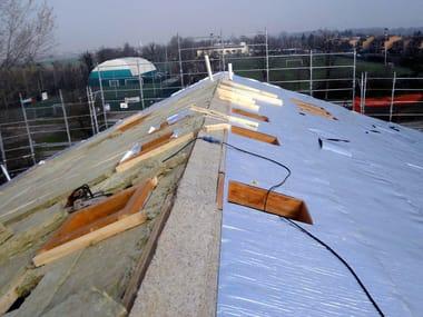 Telo isolante per coperture e pareti ventilate OVER-FOIL CLIMA